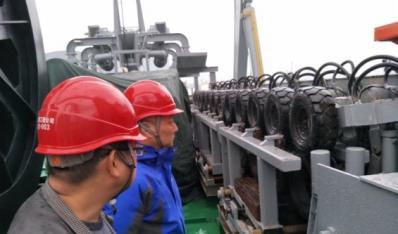 舟电7号海缆施工船改造项目验收
