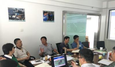 中船海洋工程有限公司布缆船初步设计方案研讨会