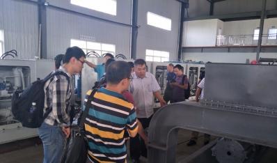 中船工业系统工程研究院等单位到公司考察